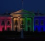 "White House Illuminated With Gay Rainbow Colors – Obama ""justice that arrives like a thunderbolt."""