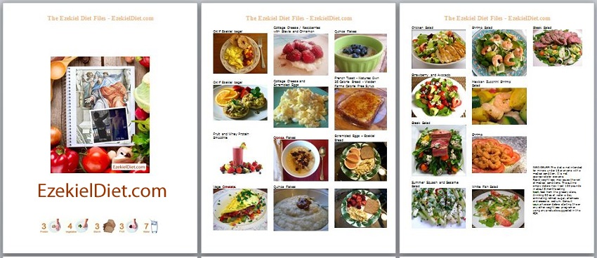 New updated ezekiel diet condensed to 8 pages of pictures the free ezekiel diet condensed pdf pictures meals desserts and secrets forumfinder Images