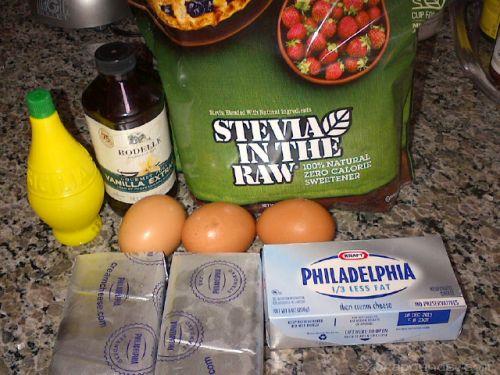 Skinny Cheesecake Ingredients
